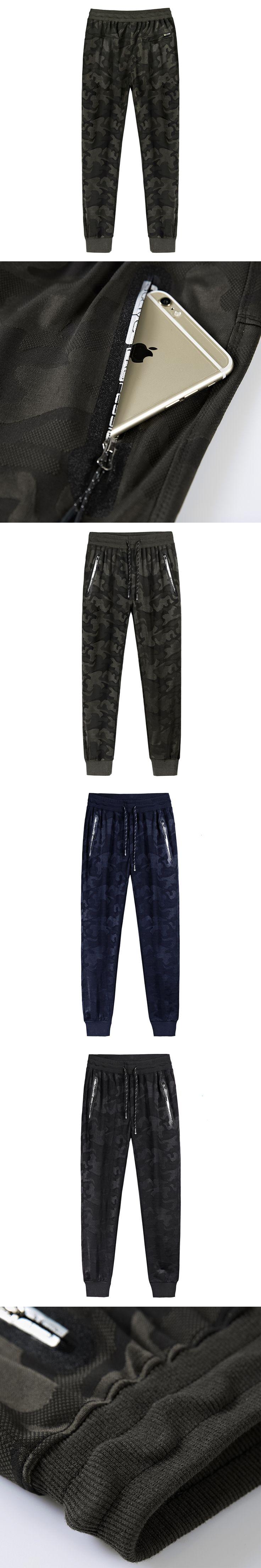 Grande taille 8 Militaire Jogger Pantalon Hommes 2017 Coton Hommes Printemps Crayon Harem Pantalon Hommes Confortable Pantalon