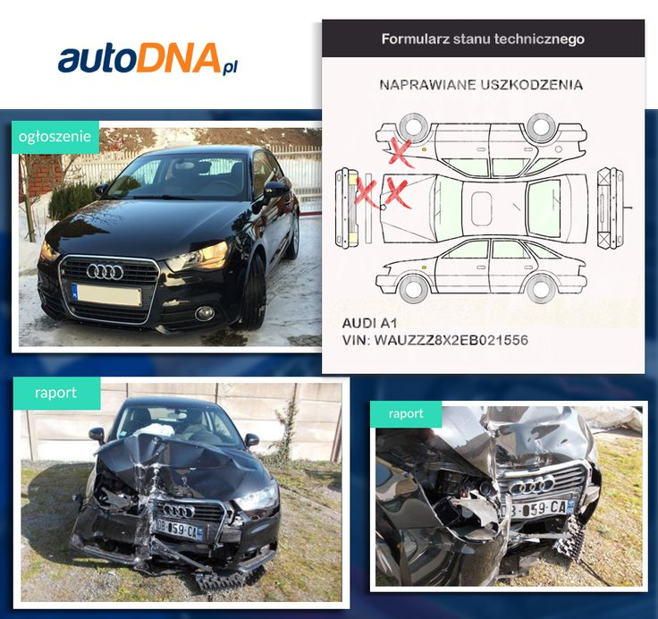 Baza #autoDNA - #UWAGA! #Audi A1 https://www.autodna.pl/lp/WAUZZZ8X2EB021556/auto/240a6a96156af0c9b7fa120554893efb4bda49c8 https://www.otomoto.pl/oferta/audi-a1-audi-a1-1-6tdi-grudzien-2013-39tys-km-okazja-ID6y78Rr.html