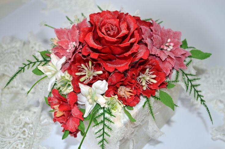 Kwiaty z foamiranu :)