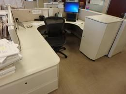 Knoll Dividend High Used Cubicles. Great Size At 6 X 6 With Neutral Panel  Fabric. Used Office Furniture In Atlanta, Georgia (GA)   FurnitureFinders