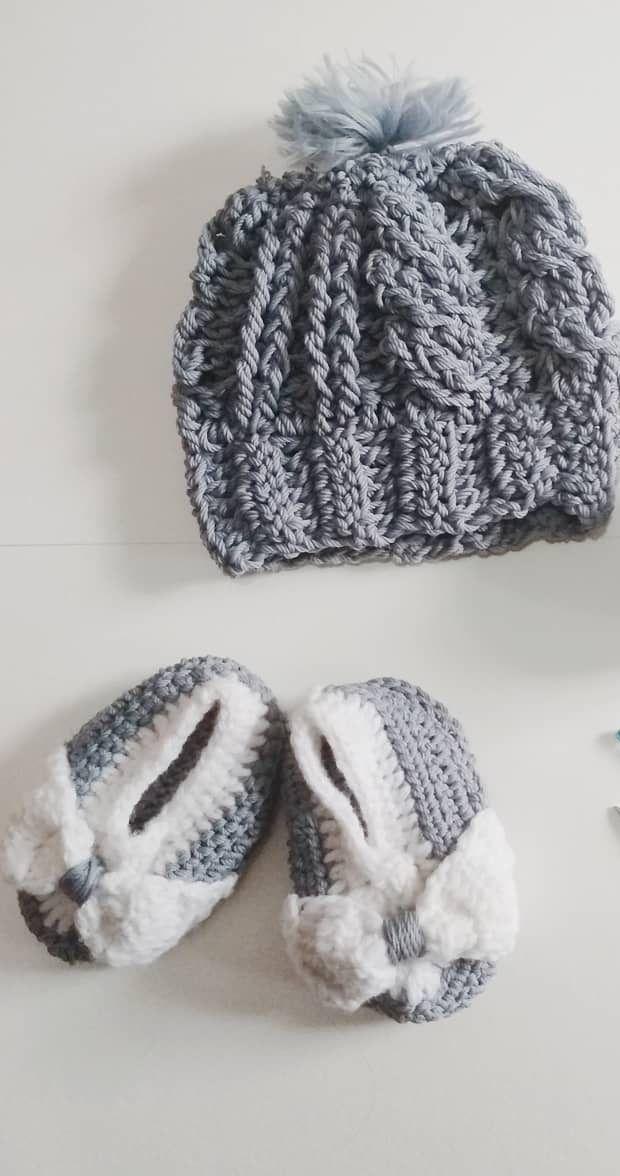 35 adorables patrones de ganchillo de sombrero de bebé | Gorros ...