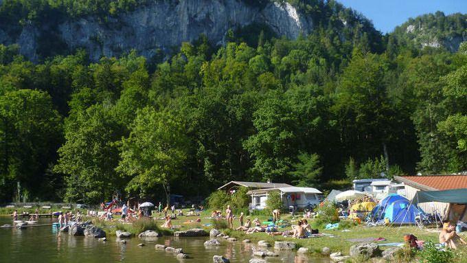 Camping Zellersee Camping, Campingplätze bayern