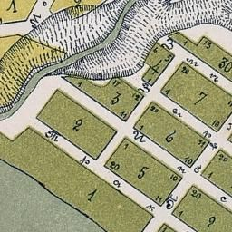 Старые карты Новосибирска и Новосибирской области | 1906 План Ново-Николаевска