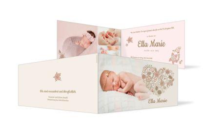 Geburtskarte Ella