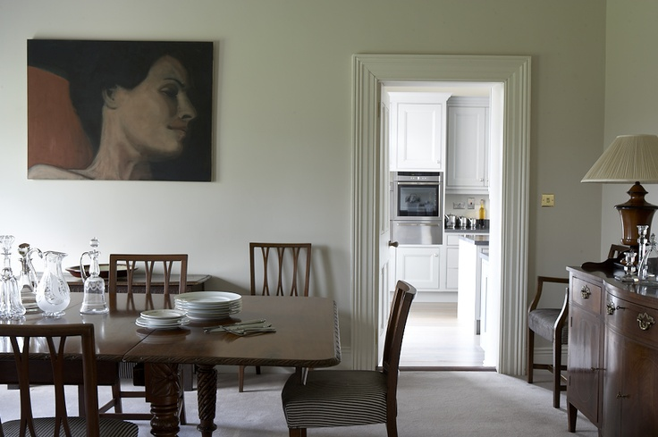 Dining Room - DMVF were approached by the owners of this detached late Victorian house in order to undertake a full restoration and extension of their home. Restoration works included new timber framed sash windows throughout, refurbishment of plaster finishes and cornicing, new heating, wiring and plumbing throughout. New decorative finishes throughout the interior were provided and extensive upragding to the landscaping of the gardens. www.dmvf.ie. Photo by MarkScott.