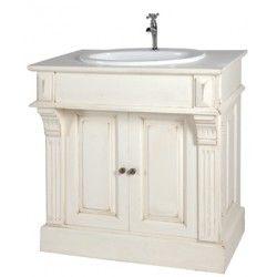 Meuble salle de bain pm sans vasque sans robinet krany - Meuble salle de bain ampm ...