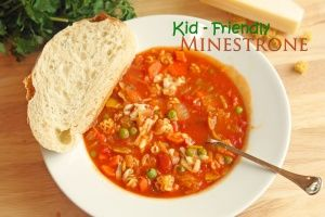 Kid-Friendly Minestrone and Cook Book Review | Healthy Ideas for Kids