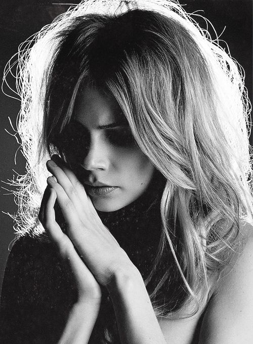 There is a great Gloria Steinem quote — and I'm paraphrasing — 'Become the man you want to marry.' I've taken that on. What qualities do I find attractive, and can I find them in myself? What am I missing? Can I be that for myself? // Michelle Williams