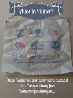 Backformen einfetten einfach und billig - Mein Tipp zum Plätzchen backen: Butterpapier kann man wenn die Butter aufgebraucht ist noch hervorragend nutzen. Ein einfacher Trick, der Geld spart.