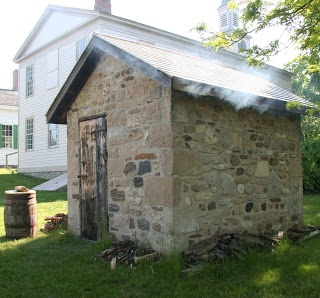 Genesee Country Village & Museum: Smoking in the Smoke-House