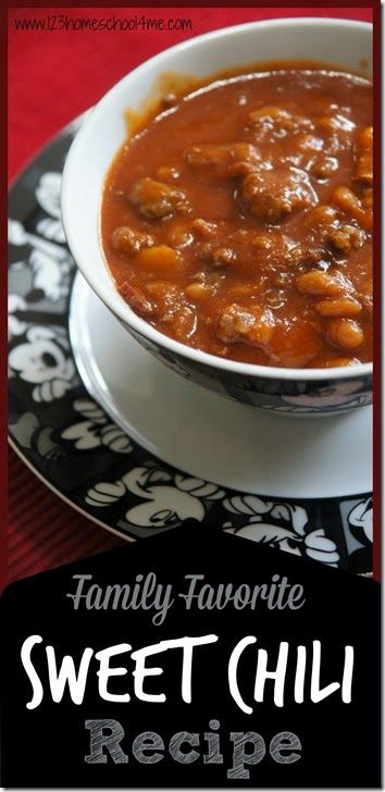 Family Favorite Sweet Chili Recipe #recipes #souprecipes #yummy