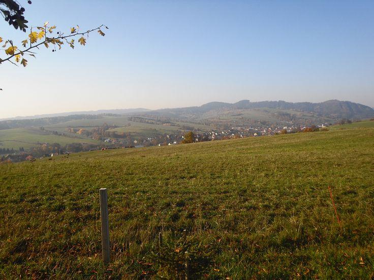 Výhled na Lidečko a částečně Horní Lideč