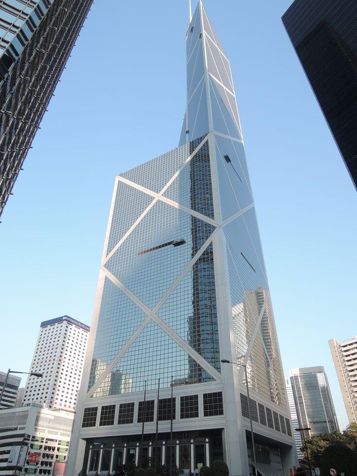 Bank of China, Hong Kong Architecture by IM Pei