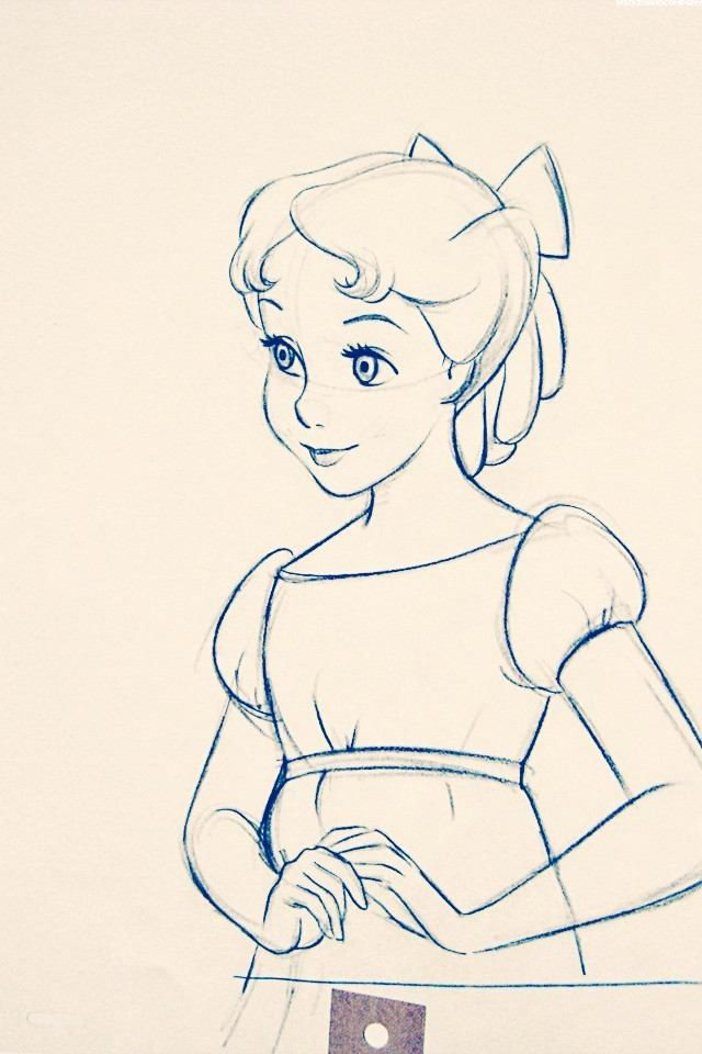 This is an image of Crush Peter Pan Drawing