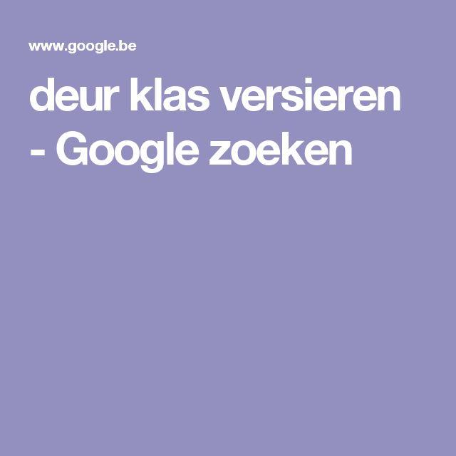 deur klas versieren - Google zoeken