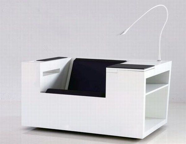 """Four Works"" a Cool Multifunctional Workstation"