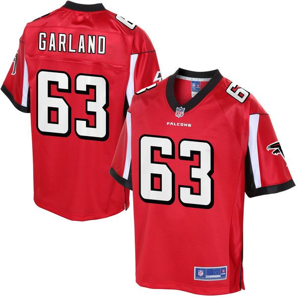ben garland atlanta falcons nfl pro line youth player jersey red 74.99 product image  nike mens home