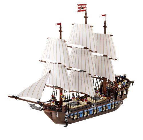 RETIRED LEGO 10210 IMPERIAL FLAGSHIP BOAT NAUTICAL NIB FREE WORLDWIDE SHIPPING