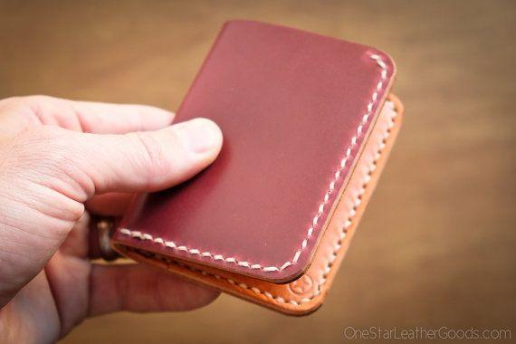 6 billetera bolsillo Horizontal Clayton shell cordobés cuero