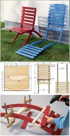 Такие садовые стулья займут достойное место в вашем саду » Архив Дачный стул | Идеи домашнего мастера