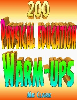 200 Physical Education Warm-Ups