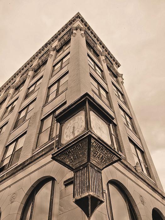 Downtown Andalusia Alabama Al Small Town Usa America Bank Banks Building Old Vintage