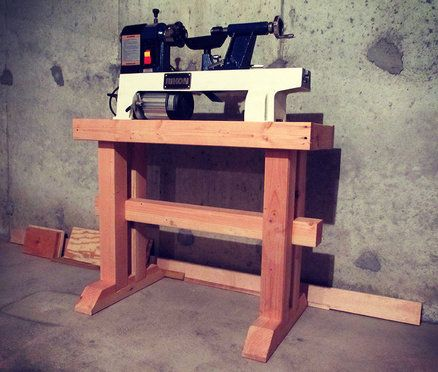 Lathe Stand Plans Free Woodworking Projects Amp Plans