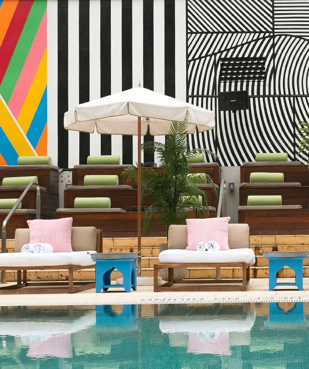 The Best NYC Rooftop Pools You Can Sneak Off To For The Day | via @dominomag