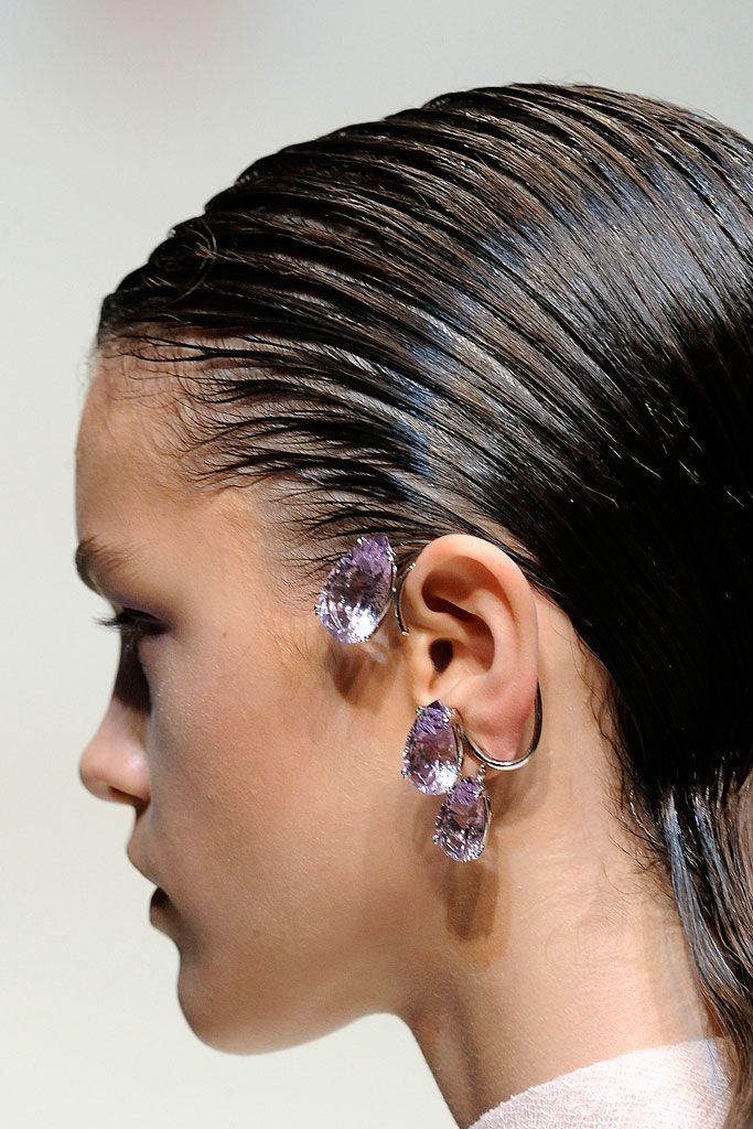 Damiani by Jil Sander earrings | ******Fix up, look sharp | Pinterest