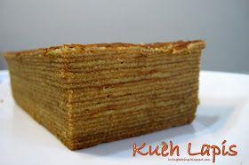 Kueh Lapis a thousand layered cake (千层糕)