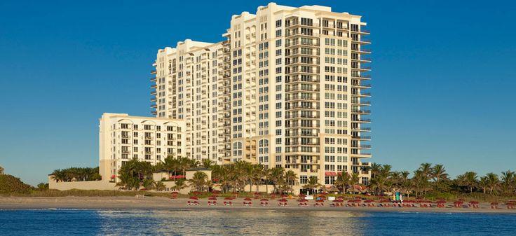 The Marriott resort at Singer Island