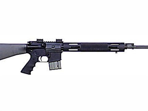 Gunmakers' stocks continue to lose   This image shows a Bushmaster .223 caliber rifle of the type used in the Connecticut shootings.