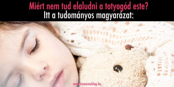 Kiderült: Miért nem akar a totyogód elaludni este? | Kismamablog