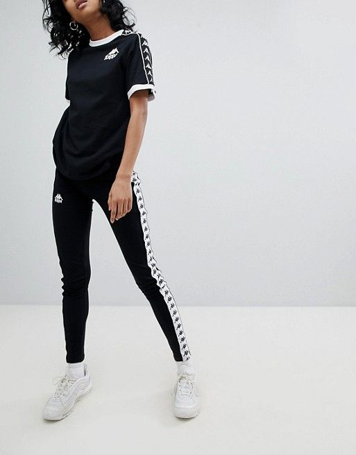 35a070800 Kappa Leggings With Logo Taping in 2019   Fashion   Attire ...