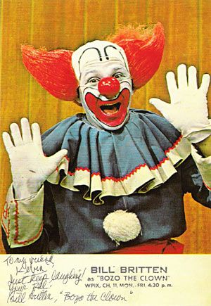 Bozo was a kid favorite...actually got to be on his show w friend Won a loaf of Wonder Bread.