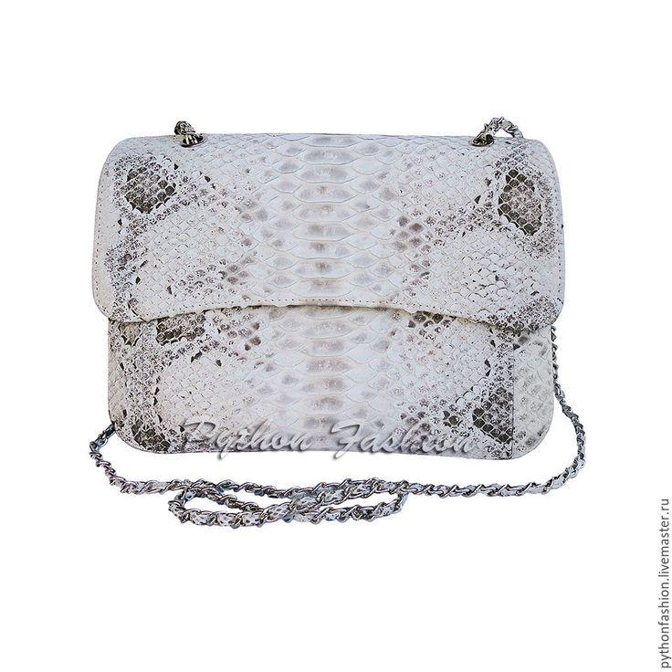 Купить Сумочка из питона ELENA XL - сумочка из кожи питона, модная сумочка, кожа питона