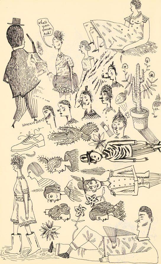 Lilli-Carre-sketchbook
