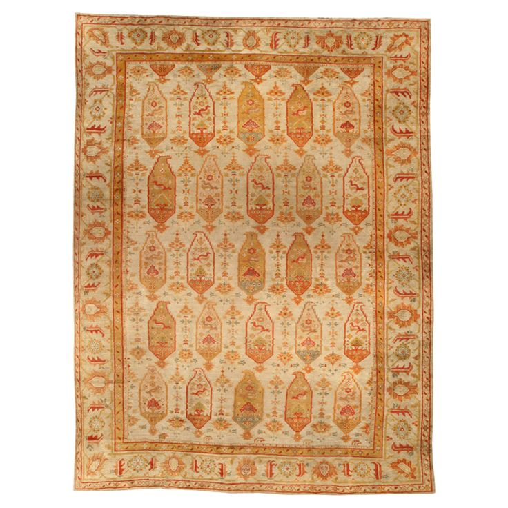 76 Best Images About Antique Oushak Rugs On Pinterest
