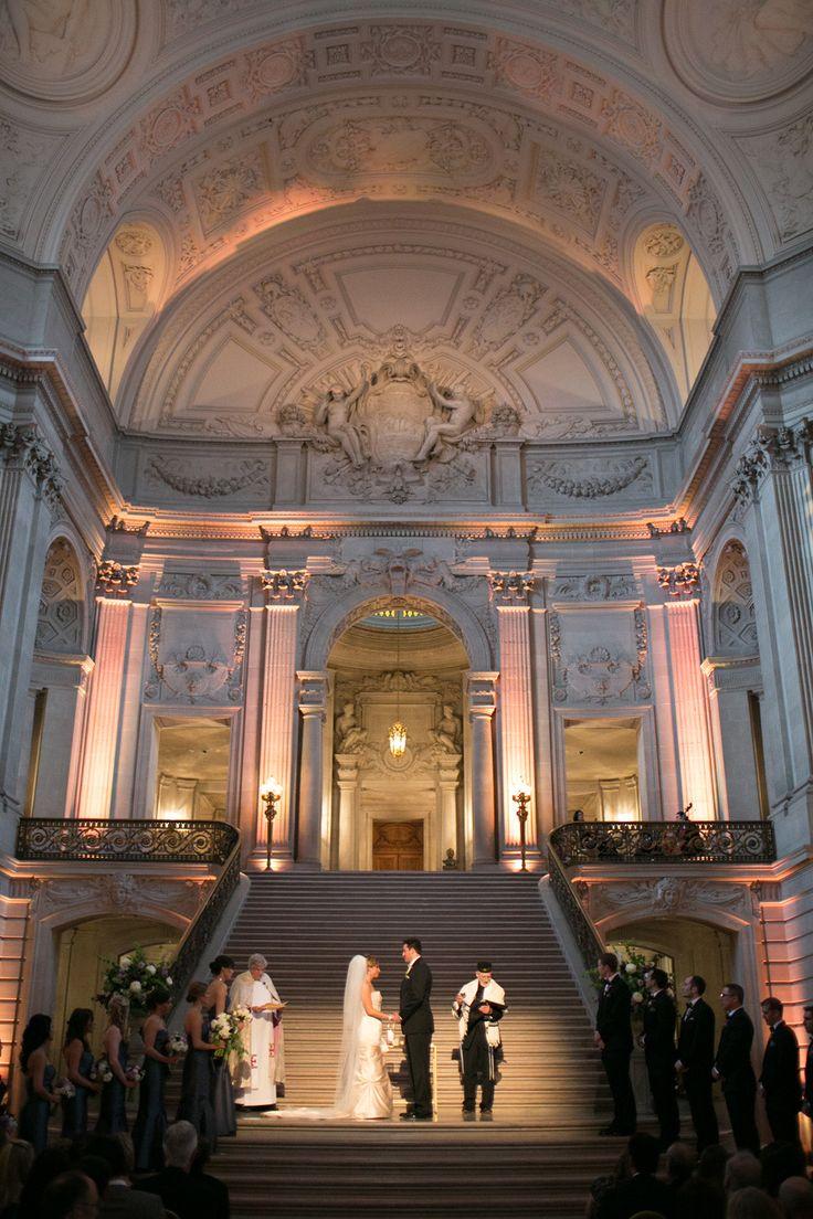 wedding locations north california%0A Classically Elegant San Francisco City Hall Wedding