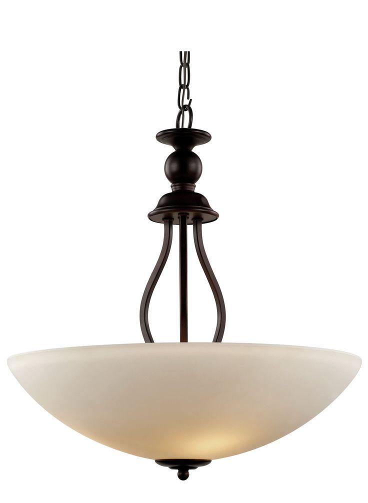 Clarissa 3 Light Bowl Pendant