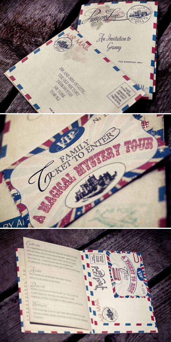 paper style wedding invitations%0A Airmail Inspired Wedding Invitations  Design and Printed by Dottie  Creations