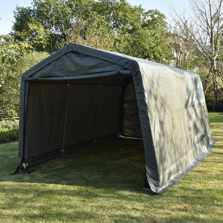 UHOM Auto Shelter 10x15X8 Portable Outdoor Garage Storage