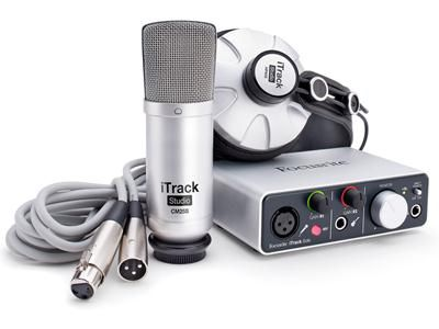 With the Focusrite iTrack Studio bundle, you can get a home recording studio up and running in record time! #Focusrite #ProAudio