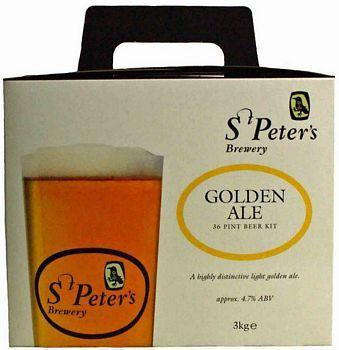 Homebrew Kits | St Peters Golden Ale Beer Kit - Homebrew supplies online.