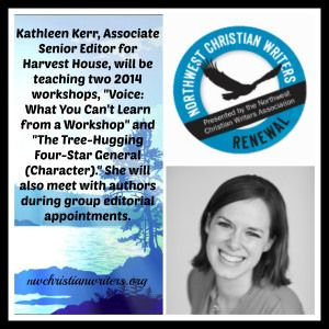 Kathleen Kerr, Associate Senior Editor for Harvest House, has a passion for finding new voices. #NWCWriters #writersconference #writer