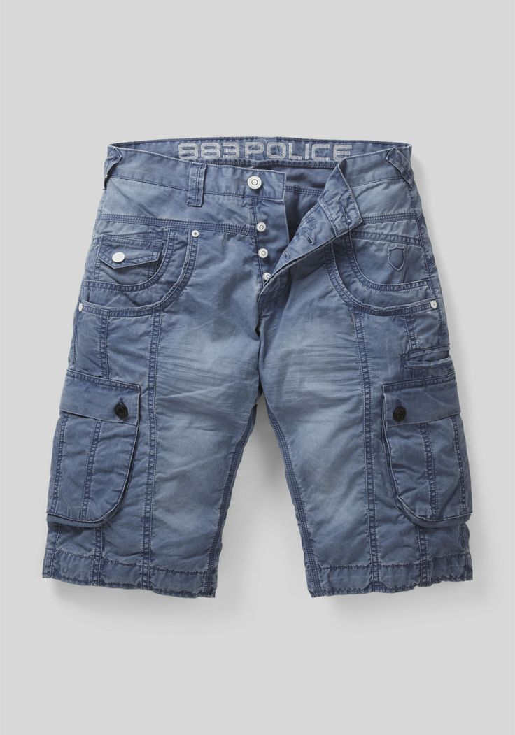The Seattle Cargo short, available in an array of colours.  Shop: https://www.883police.com/shop-online/shorts