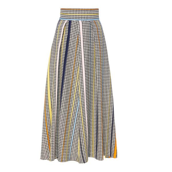 Full A-Line Skirt | Moda Operandi ($1,195) ❤ liked on Polyvore featuring