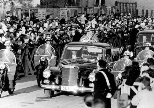 MB 300D Adenauer Juan XXIII-1960