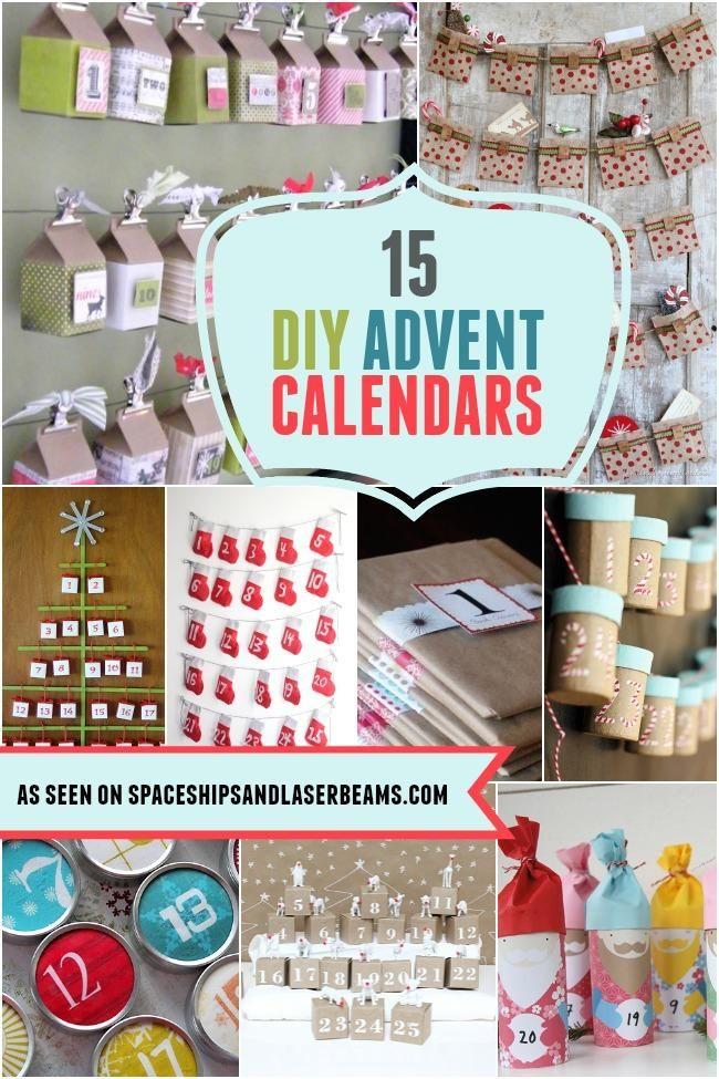 Diy Calendar Supplies : Best images about diy natal on pinterest christmas
