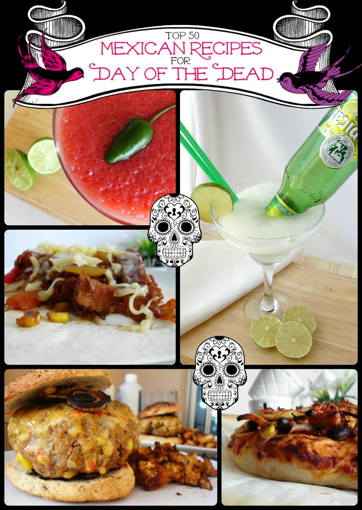 Top 50 Mexican Recipes for Day of the Dead | Pink Recipe Box